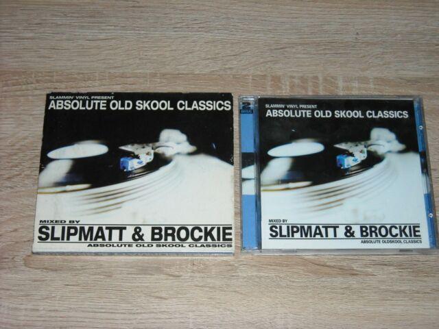 SLAMMIN' VINYL PRESENTS ABSOLUTE OLD SKOOL MIX BY SLIPMAT & BROCKIE (2002 CD'S)