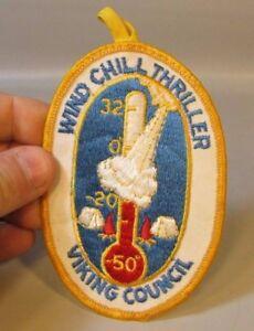 Rare-BOY-SCOUT-Viking-Council-Winter-Chill-Thriller-Minnesota-Patch-BSA