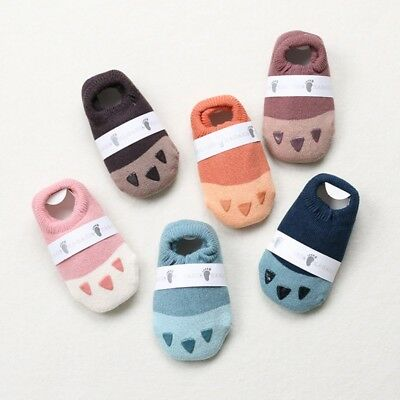 Baby Cute Cartoon Non-slip Cotton Toddler Floor Socks Kids Shoes Slipper Socks
