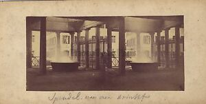 Karslbad Karlovy Var Repubblica Foto Stereo Vintage Albumina Ca 1860