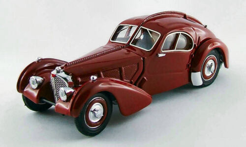 Bugatti 57 SC Atlantica 1938 Amarant 1:43 Model RIO4417 RIO