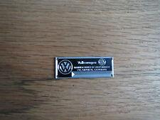 VW Volkswagen Metal Display Plaque Diecast 1/24 1/18 1/43 Beetle Bus Kharmann