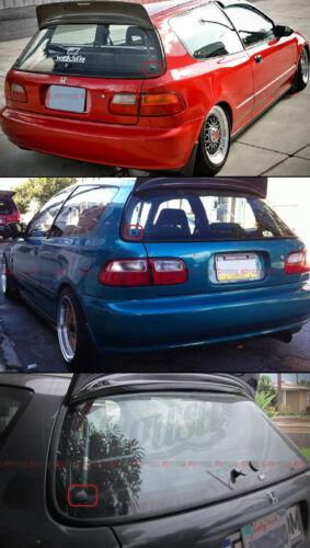 For 1992-1995 Honda Civic EG Hatchback Rear Windshield Glass Strut Hardware Kit