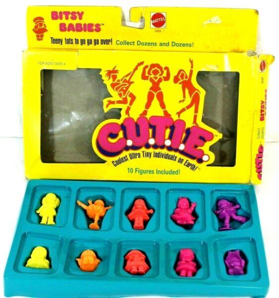 U.t.i.e 1986 Mattel 3459 C Cool Ultra Petits Individus Sur Terre Bitsy Bébés Prix De Liquidation