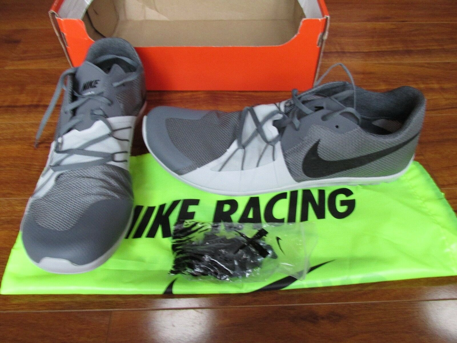 New shoes for men and women, limited time discount NEW Nike Zoom Forever XC 5 Spikes Running shoes MENS 12.5 Grey 904723-002 Price reduction