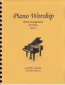 Details about Church Hymn Arrangements for Piano WORSHIP Pieces Sheet Music  Solo Offertory #2