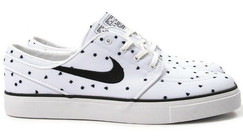 Nike SB Zoom Stefan Janoski 705190-100 Canvas Premium SkateBoard Oreo 705190-100 Janoski White 10.5 0893b4