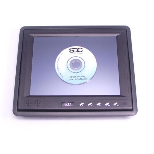 "Sdc-t8 20cm 8/"" LCD TFT monitor de pantalla táctil 2 años inmediatamente intercambio Service"