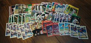 Greg-Maddux-Baseball-Card-Lot-of-56-Mixed-Years-Makes-RC-HOF-Cubs-Braves