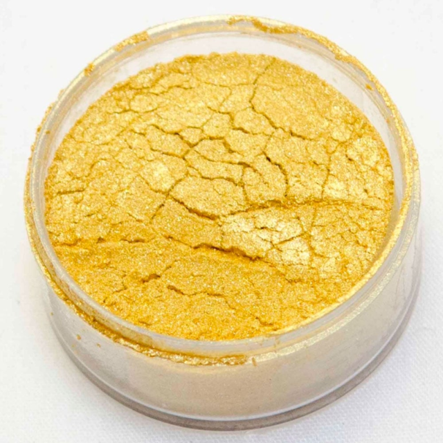SPECIAL GOLD EDIBLE LUSTRE DUST- ROLKEM SUPERS - CAKE DECORATIONS