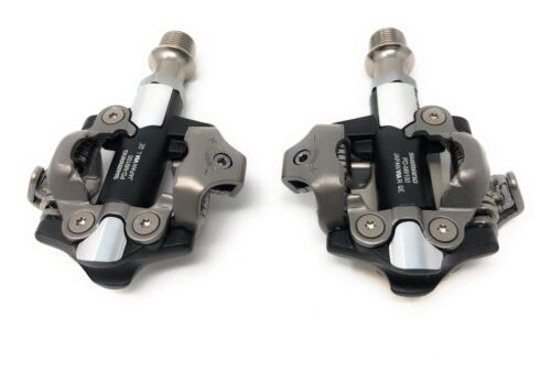 NEW Shimano XTR PD-M9100 Race XC SPD Clipless Bicycle Pedals Axle Length 55 mm