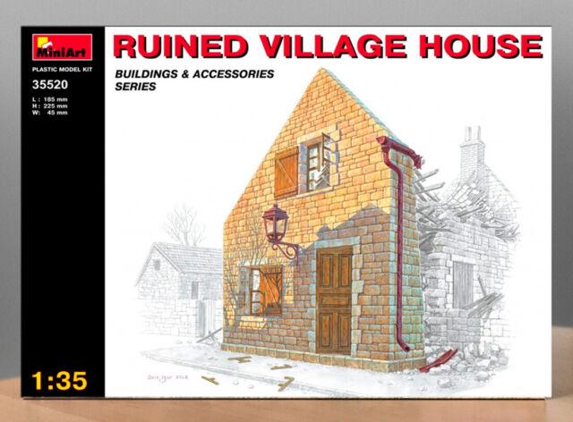 1:35 Village Accessories Model Kit