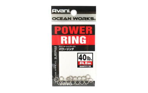 Varivas Power Split Rings Heavy Duty Strong 40 lb 4018