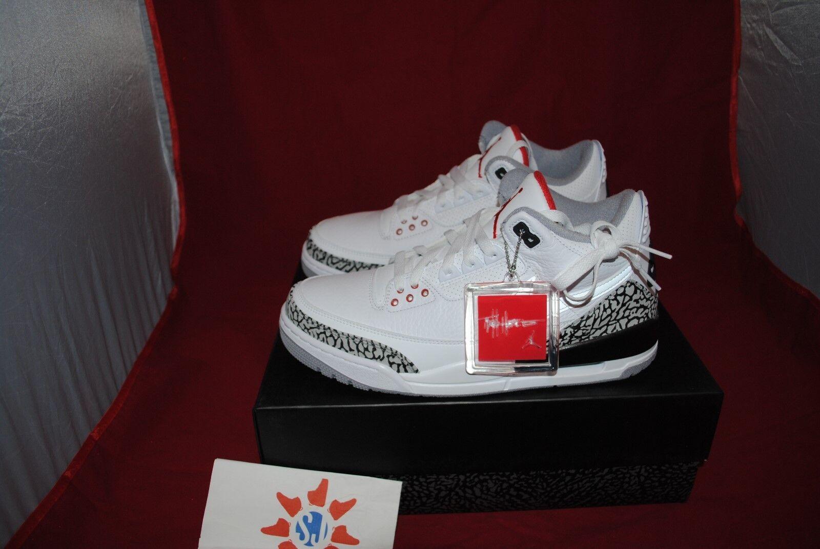 c9c8eb9716c Nike Air Jordan 3 JTH Super Bowl Justin - Size 8-13 Tinker Timberlake  nxtjxy1932-Athletic Shoes