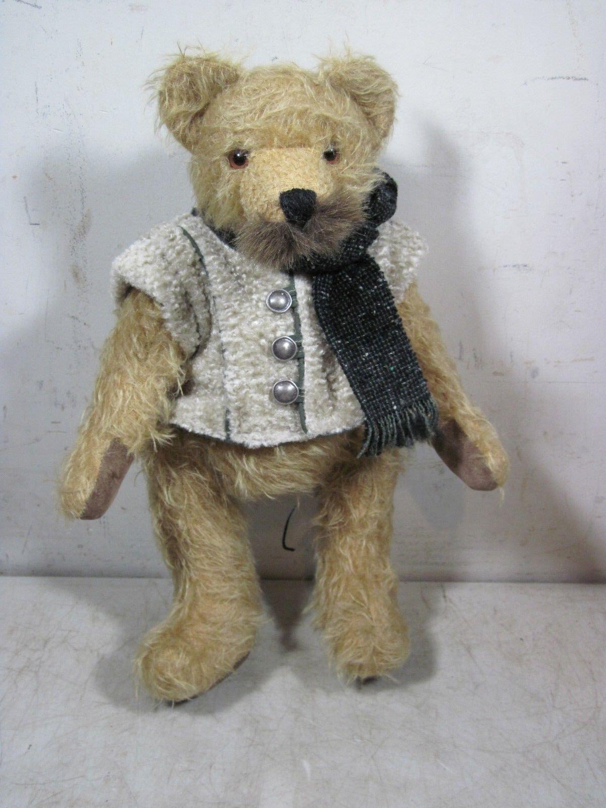 Vintage 2003 Hermann 1st Flight Adventure Mohair Teddy Bear Germany Limited  106