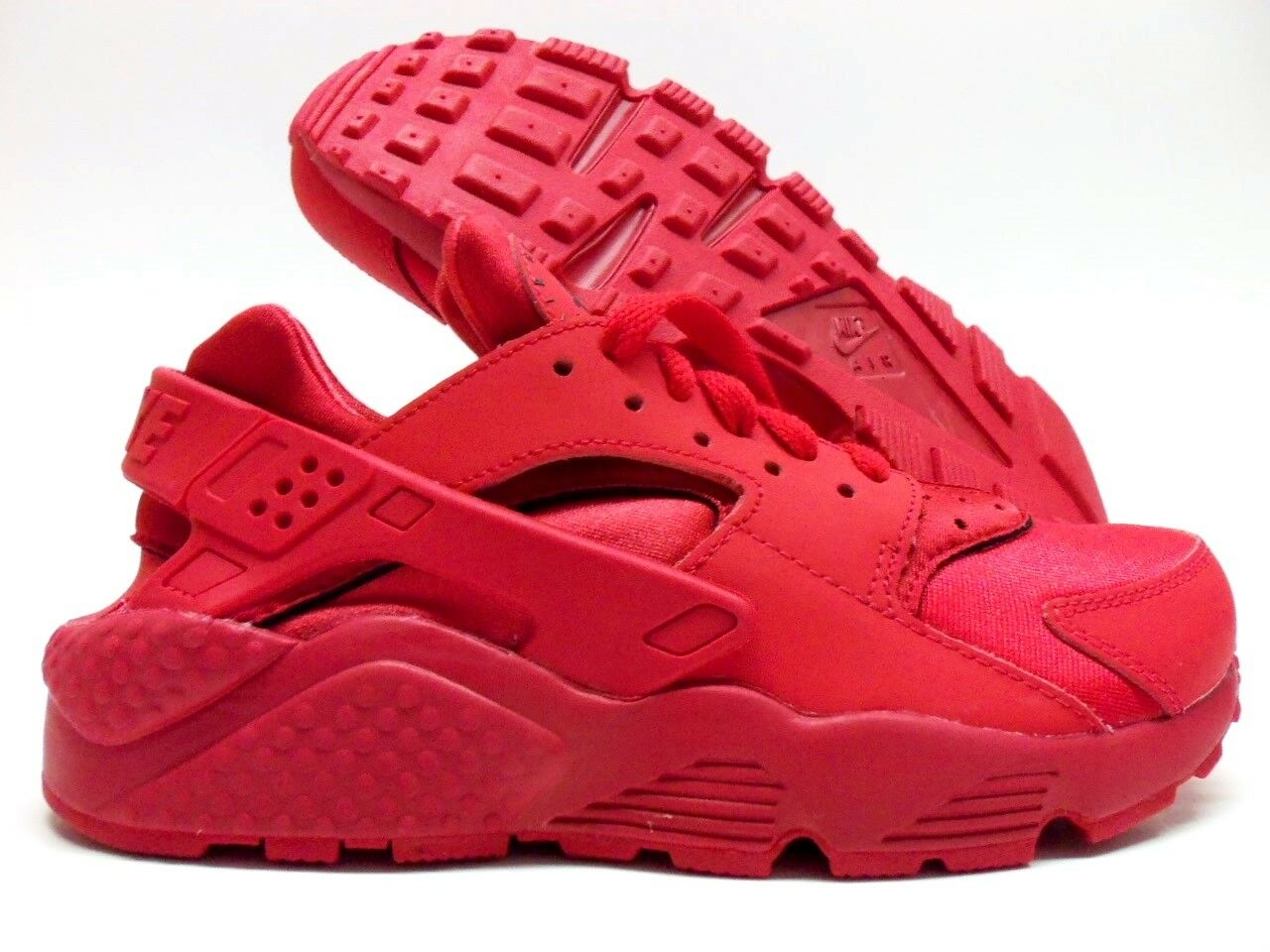 8de0098517ab NIKE NIKE NIKE AIR HUARACHE ID OCTOBER RED SPORT RED SIZE WOMEN S 6   777331-978  8a3d5f