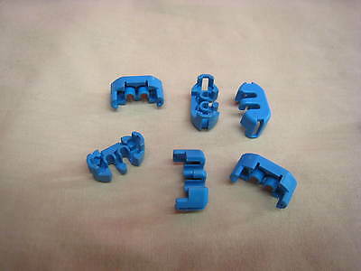 D4 LOT OF 10  DELPHI WEATHER PAK 1 PIN CONNECTOR  MALE TOWER HOUSING 12015791