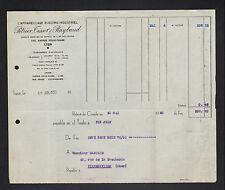 "LYON (69) APPAREILLAGE ELECTRO-INDUSTRIEL ""PETRIER , TISSOT & RAYBAUD"" en 1930"