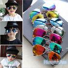Vintage Driving Sunglasses Child KIDS Boy's & Girl's UV400 Mirror Lens