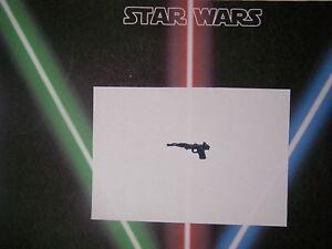 Star wars vintage arme repro weapon A wing pilot , Impérial Gunner  vintage