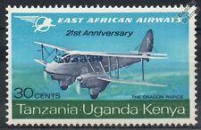 East African Airways de Havilland DH.89 DRAGON RAPIDE Aircraft Stamp