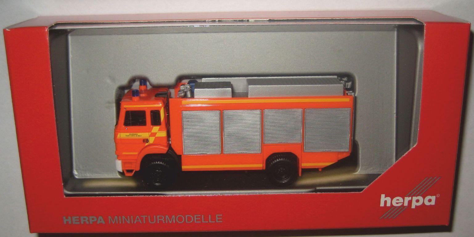 Herpa 093996 Iveco Magirus R 65533; [livräddande] 65533; stwagen Feuerwehr Furth im Wald 1 87 Spur HO
