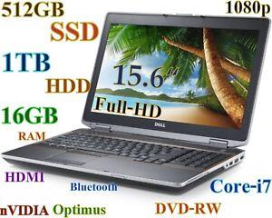 3D-Design-DELL-E6520-i7-2-8GHz-512GB-SSD-1TB-16GB-15-6-FHD-nVIDIA-New-BAT