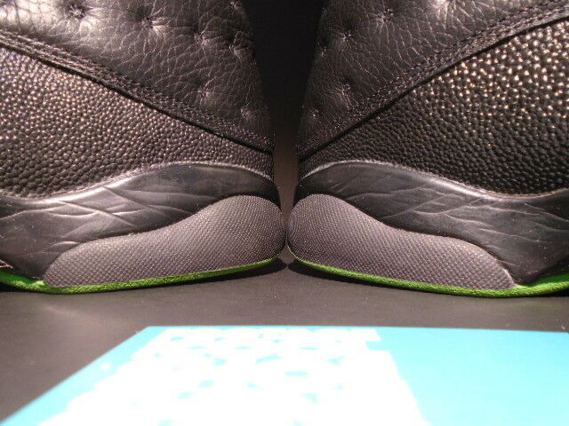 2005 Nike Retro Air Jordan XIII 13 Retro Nike BLACK ALTITUDE GREEN BRED 310004-031 9 3b9200