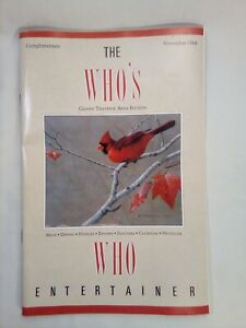 The-Who-039-s-Who-Entertainer-Grand-Traverse-Area-Edition-November-1988-Travel-Guide