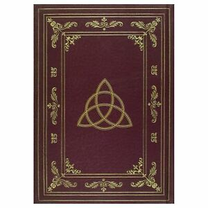 Brown-Triquetra-Triple-Moon-Wiccan-Journal-Divining-Occult-Fortune-Telling-Witch