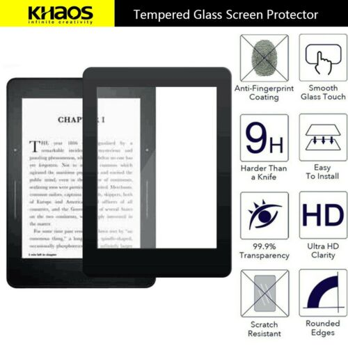 KS For New Kindle Paperwhite 4 2018 HD Tempered Glass Screen Protector BK