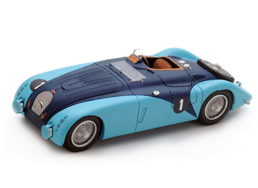BUGATTI 57 G No. 1 (LE MANS 1937) Resin Model Car s2736