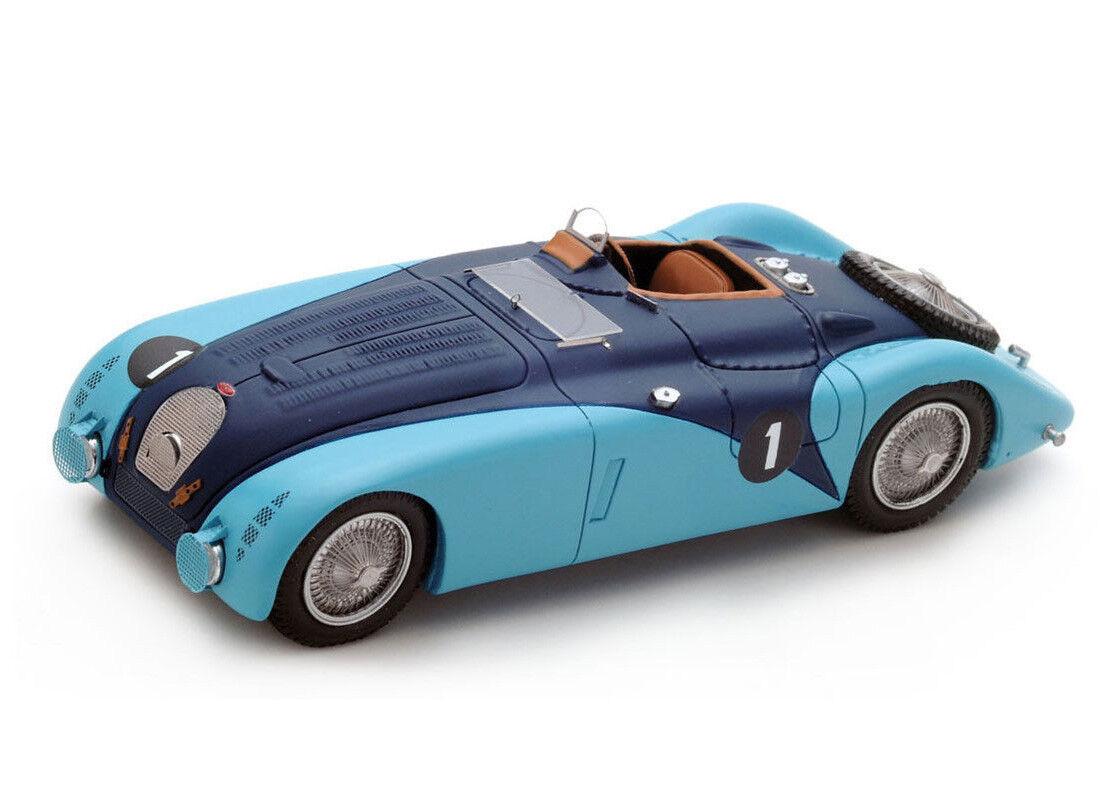 BUGATTI 57 G No. 1 (LE MANS 1937) Resin Model Car s2736