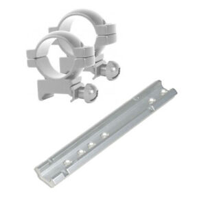 27fc076ce6bc Silver Scope Mounts fits Henry All Weather Lever Action 30-30   45 ...