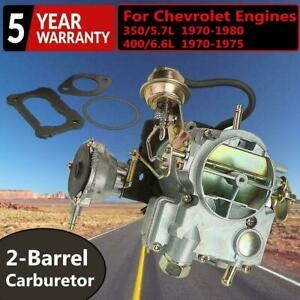 CARBURETOR CARB TYPE ROCHESTER 2GC 2 BARREL FIT FOR CHEVROLET ENGN 350 400 CHEVY