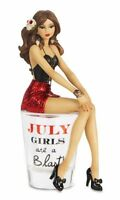 Hiccup By H2z 73715 july Girls Are A Blast Shot Glass With 5-3/4-inch Girl Fi on sale