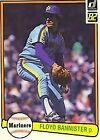 1982 Donruss Floyd Bannister #100 Baseball Card