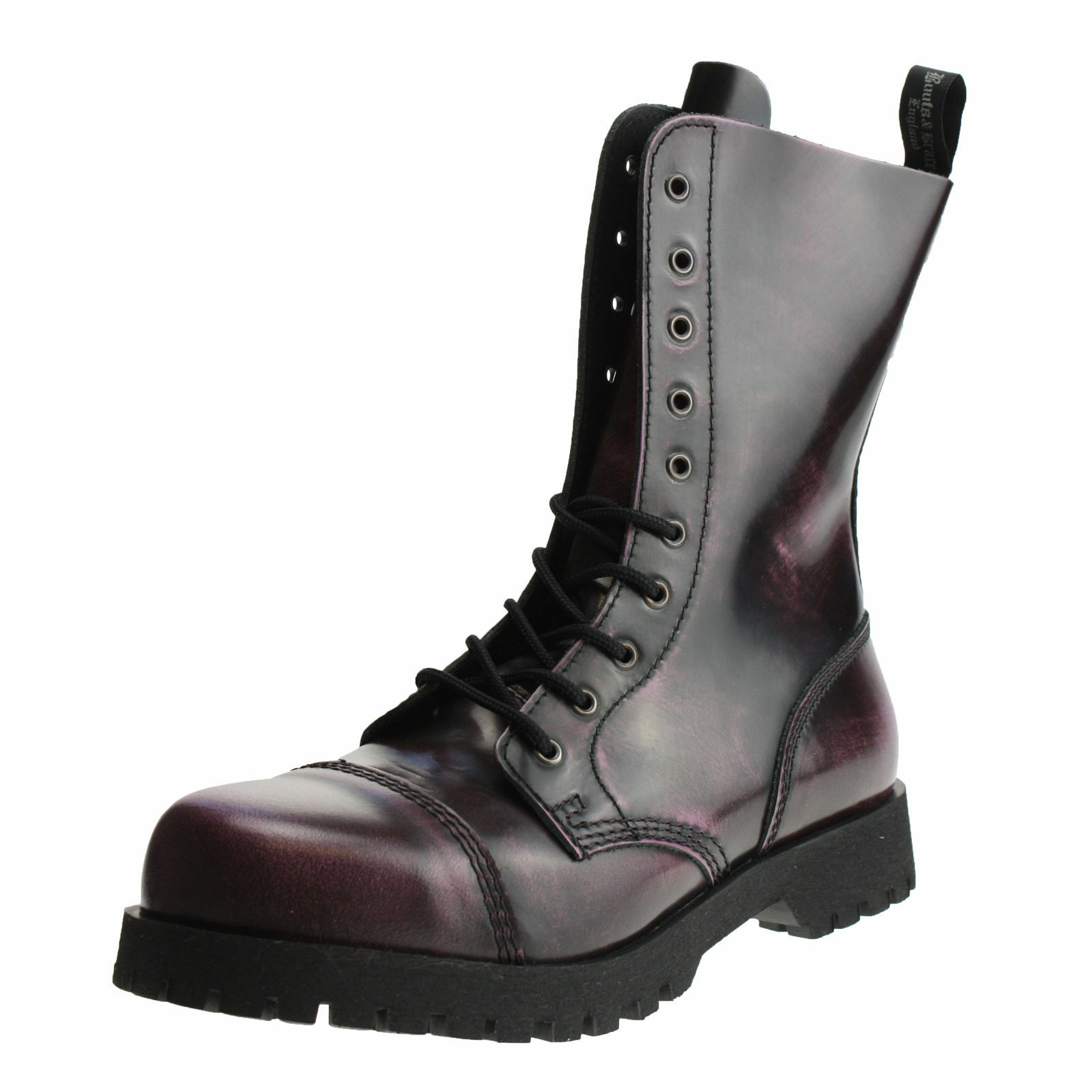 botas botas botas & Braces campo de 10 hoyos botas y Rangers Púrpura Negro  ordene ahora los precios más bajos