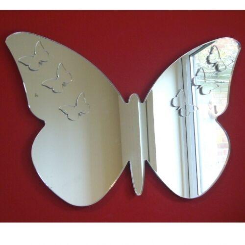 Papillons Plusieurs Sur Papillon Acrylique Miroir Plusieurs