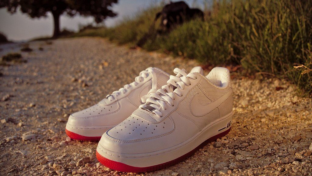 2018 Nike Air Force 1 Low Premium Price reduction Wild casual shoes