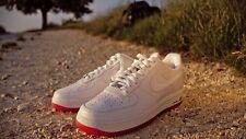 2010 Nike Air Force 1 Low Premium SZ 10 Futura Be True White Orange 318775-112
