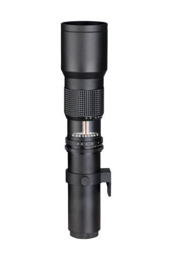 Dörr Danubia Teleobjektiv 500mm 8,0 T2 für MFT Olympus OM-D E-PL PEN Panasonic G