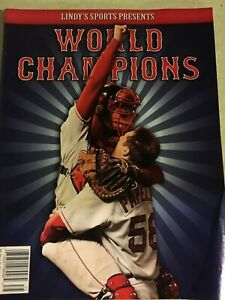 Lindys Sports Present 2007 Boston Redsox World Champions Special EditionMagazine