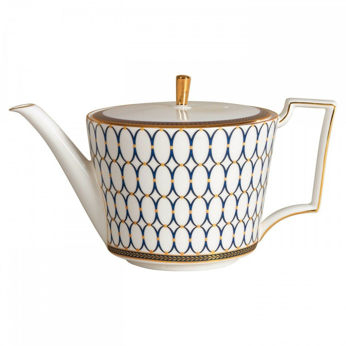 Wedgwood Renaissance gold Teapot 2.1 pt New with Tag C102102211