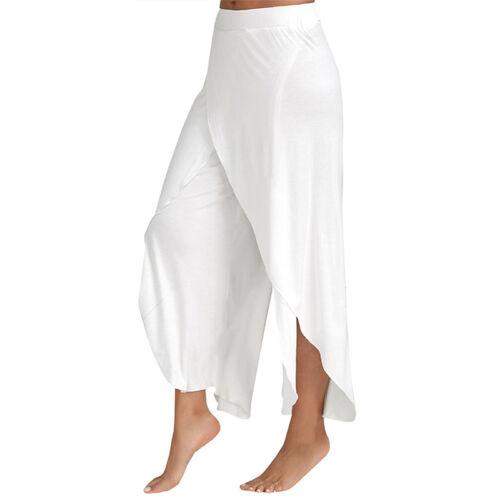Chiffon Pumphose Haremshose Aladinhose Yoga Damen Aladin Sport Harem Yoga Hosen
