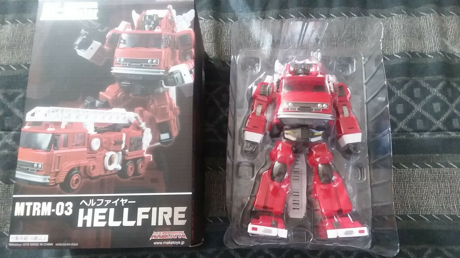 Transformers renderegiocattoli MTRM03 Hellfire 3rd Party Masterpiece Inferno