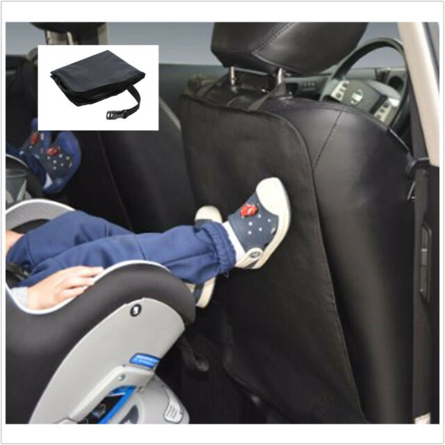 Car Seat Back Cover Kick Protector Clean Pad Anti Mat Stepped Dirty For Kids