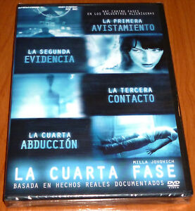 Detalles de LA CUARTA FASE / THE FOURTH KIND - English Español DVD R2 -  Precintada