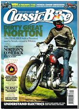 Classic Bike December 2008 Bultaco CCM 580 Maico 490 Norton P11 SR500 XL250