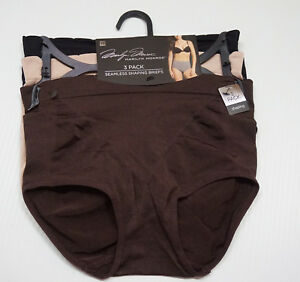 MARILYN MONROE PACK OF 2 TUXEDO SHAPING BRIEFS RETRO STYLE HI-WAISTED M L XL 1X